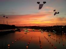 Lanterns at Dusk