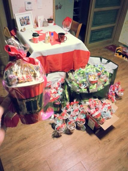 Santa Bellies ready to go!