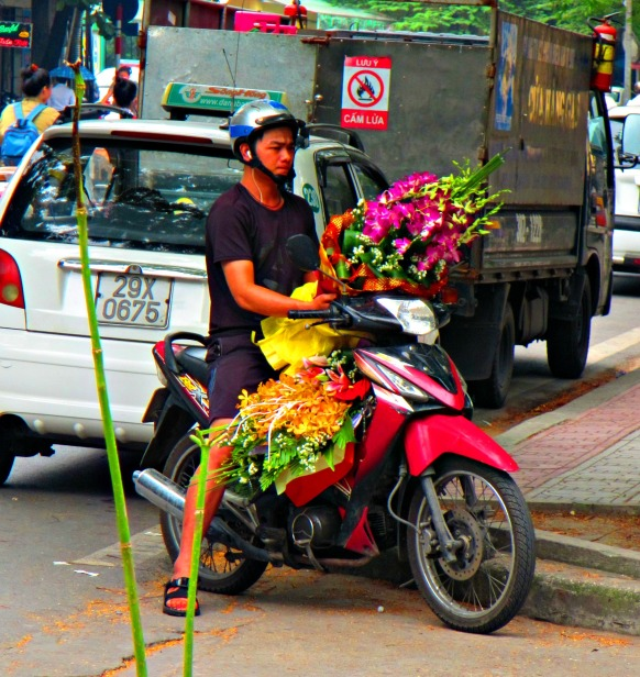 Flower delivery in Ha Noi